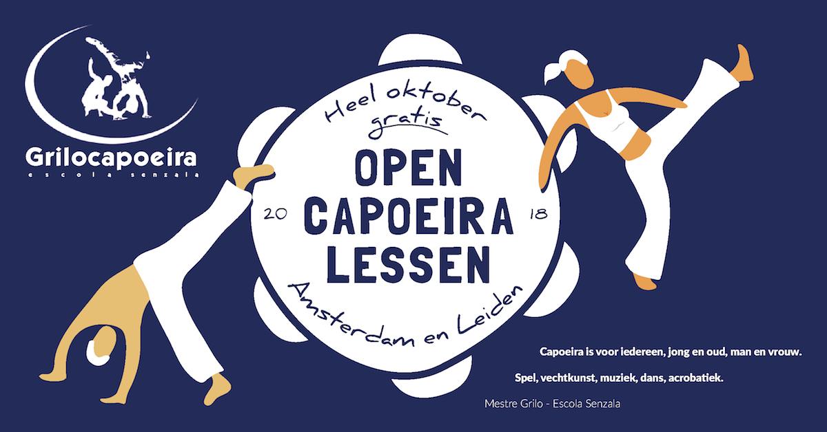 Capoeira beginnerscursus Leiden. Amsterdam