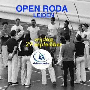 Open Roda Leiden –  September 29th 2017