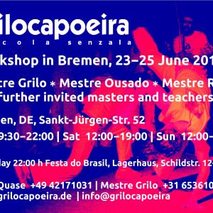Grilo capoeira summer workshop Bremen