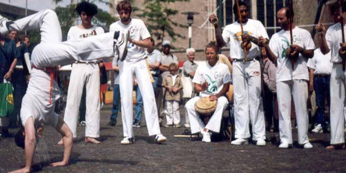 Capoeirademonstratie