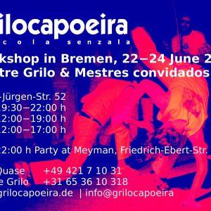 Grilo Capoeira – Workshop Bremen 2018