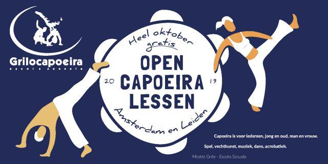 1 maand GRATIS meedoen met capoeira