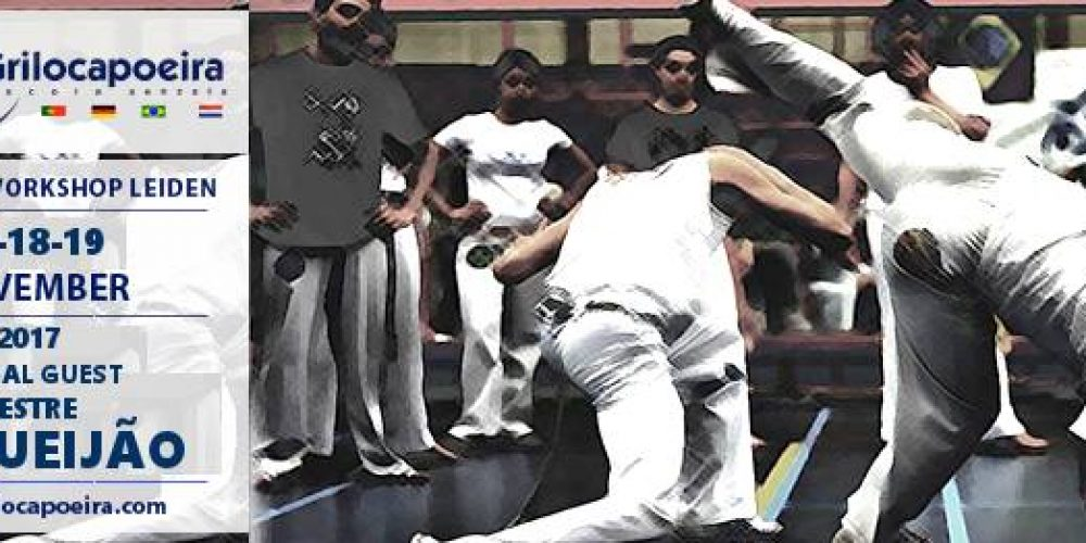 Grilo Capoeira – Workshop Leiden 2017