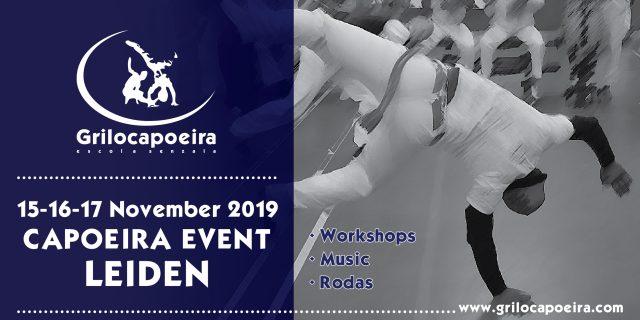 Capoeira event Leiden 2019 – Grilo Capoeira