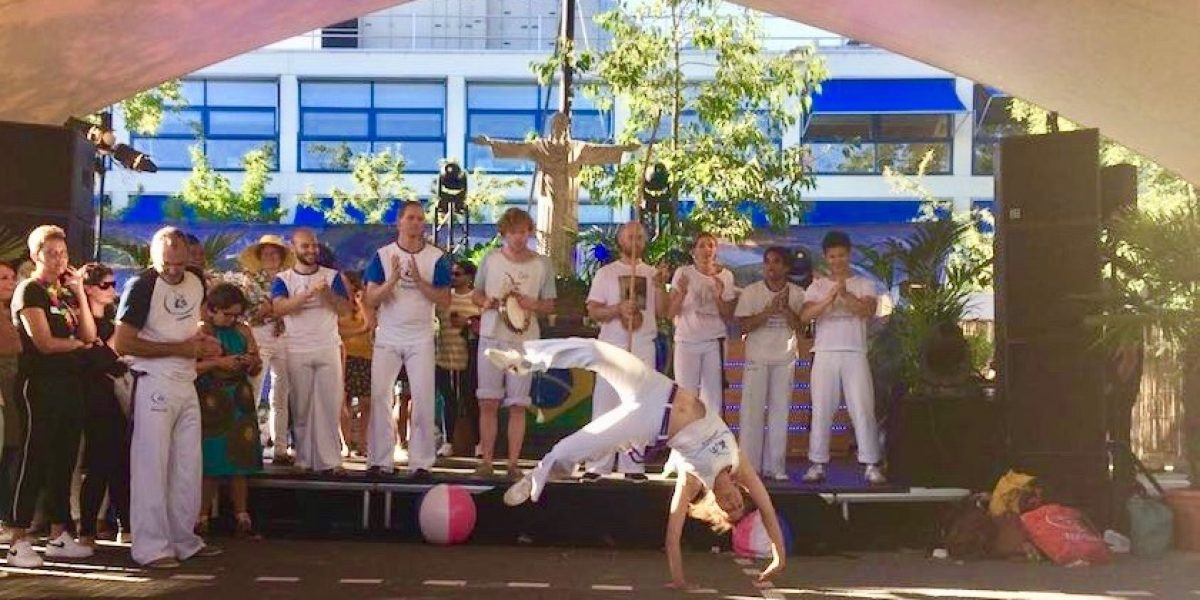 Capoeira demonstratie