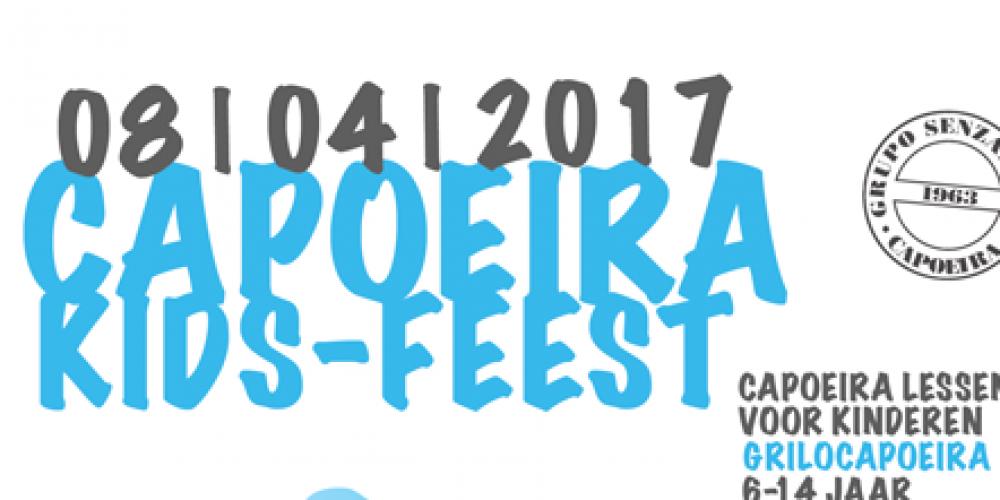 Capoeira Kidsroda Voorjaar 2017