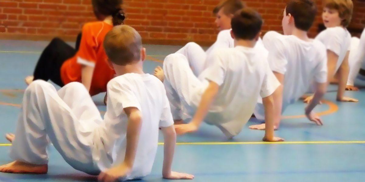 Capoeira voor kinderen