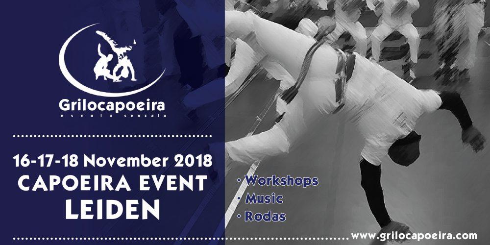 Capoeira event Leiden 2018 – Grilo Capoeira