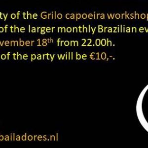 Brazilian Party Leiden November 18th 2017