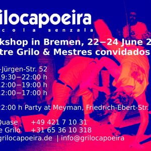 Grilo Capoeira – Workshop Bremen 2018