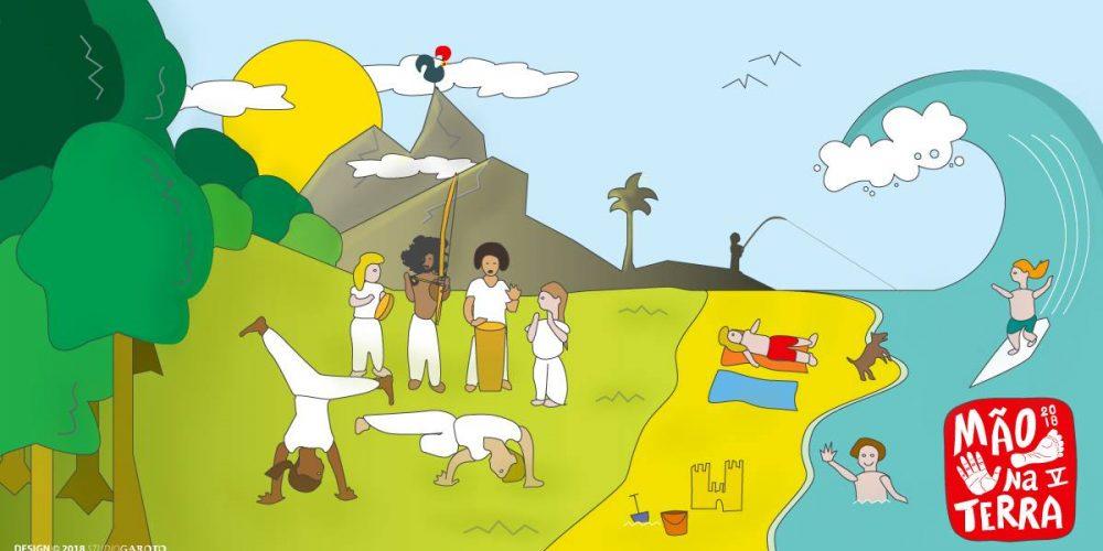 Mao na Terra V – Capoeira Portugal