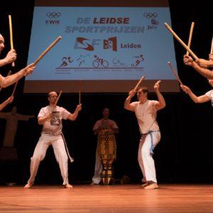 Capoeirademonstratie de Leidsche Sportprijzen 2015