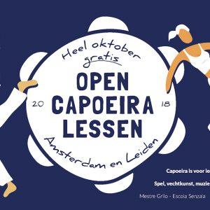 Open capoeiralessen + beginnerscursus capoeira – najaar 2018