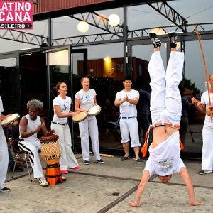 Capoeirademonstratie Plekk Amsterdam: Fiesta Latinoamericana