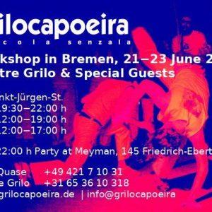 Grilo Capoeira – Workshop Bremen 2019