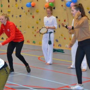 Capoeiraworkshop Knock-Out Clinics Amsterdam