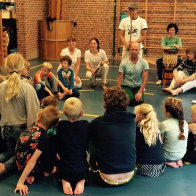 Capoeiraworkshop voor kinderen Terschelling