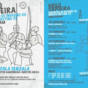 Capoeira Winter Meeting Amsterdam – Encontro de Inverno 2016